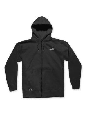 zipper-emb-black
