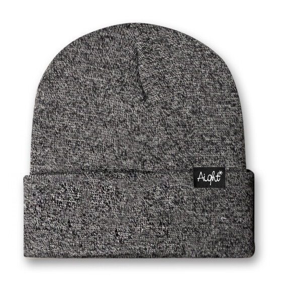 Aight* Beanie - OG Loop grey
