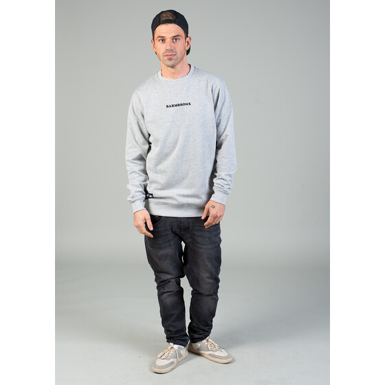 Aight* Sweatshirt - Barmbronx Stc heather grey