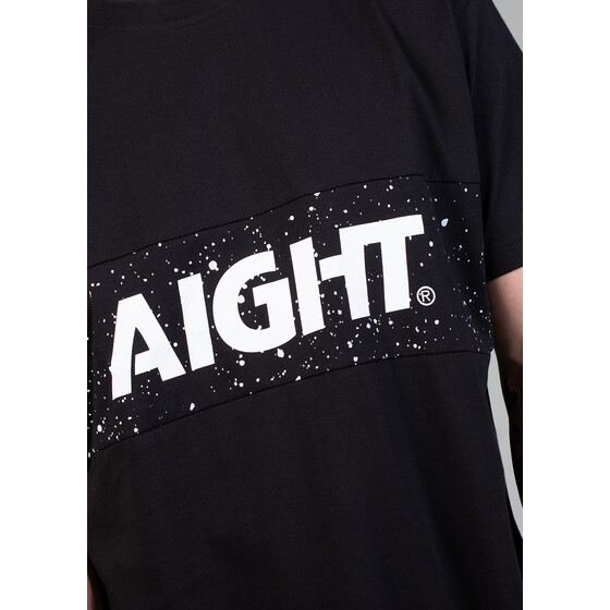 Aight* T-Shirt - 2 Tone cosmo black M