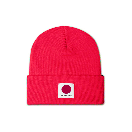 Aight* Beanie - OG Japan red