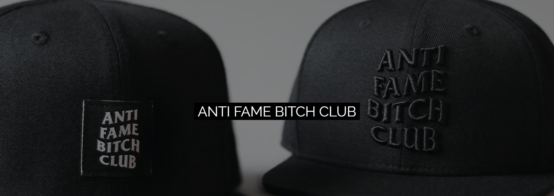 Die neuen Anti Fame Bitch Club Caps sind da.